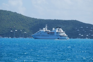 Seabourn Spirit Prickly Pear Cay in Virgin Gorda BVI