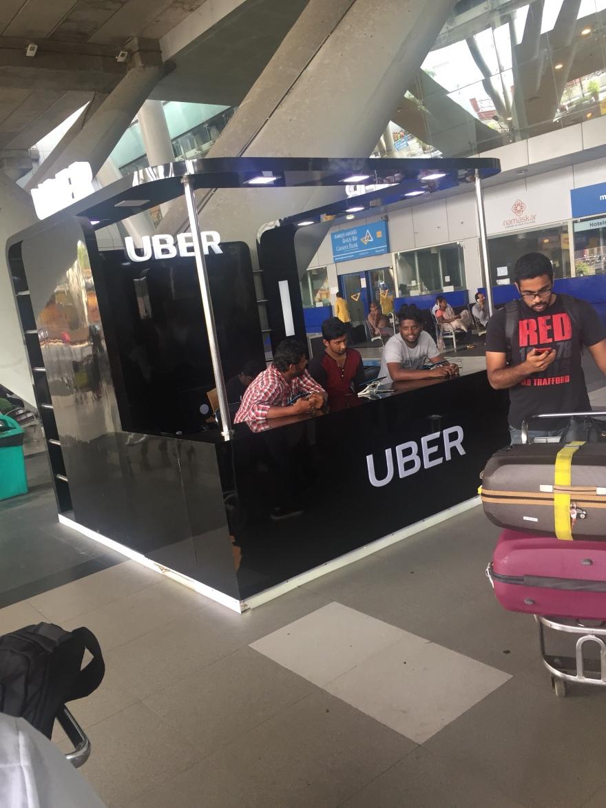 Uber Chennai airport